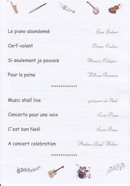 2ème partie du concert