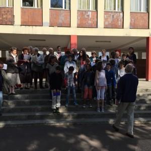 Répétition du Chant des Marais avec les enfants